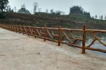 仿树护栏景观应用工程案例