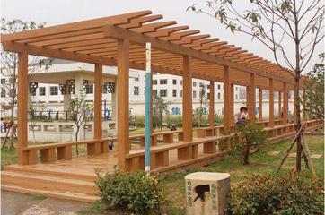 仿木长廊景观应用工程案例
