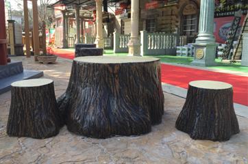 仿木座椅景观应用工程案例